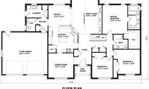 customized floor plans customized house plans
