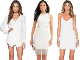 bachelorette party dresses white dresses to shop now