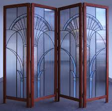 glass room divider for interior designs and furniture home design
