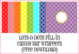 free bar wrapper templates bar birthday wrapper up the organized