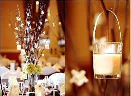 branch candle hanging votive romantic wedding centerpiece diy