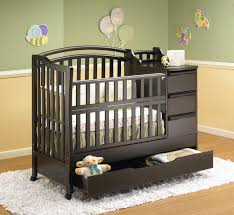 Black Convertible Crib by Crib Changing Table Combo Black Creative Ideas Of Baby Cribs