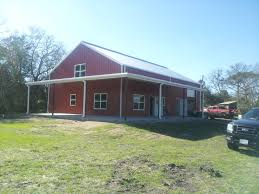 Metal Barn Homes In Texas Browse Various Metal Homes We Built In Texas T U0026t Construction