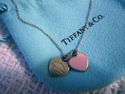 heart charm necklace tiffany images Best of tiffany pink heart necklace jewellry 39 s website JPG