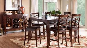 Dining Room High Tables affordable counter height dining room sets rooms to go furniture