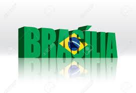 Brazil Flag Image 3d Vector Brasilia Brazil Word Text Flag Lizenzfrei Nutzbare