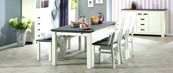 gray dining table with bench large dining table with bench grey dining table set large size of