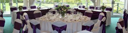Purple Chair Sashes Chair Covers Exquisite Wedding U0026 Event Services
