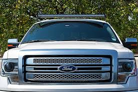 Single Row Led Light Bar by Ford F 150 04 2014 Rooftop Led Light Bar Mounts Straight 50