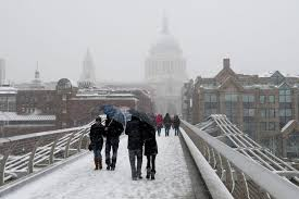 white christmas odds slashed by bookies as britain braces for icy