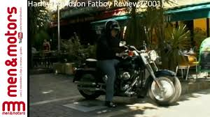 harley davidson fatboy review 2001 youtube