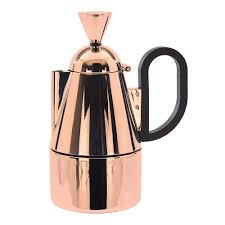 tom dixon brew stove top coffee maker copper houseology