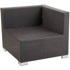 Remove Rust From Outdoor Furniture by Bfm Seating Ph5101jv 54010 Aruba Java Wicker Outdoor Indoor Sofa