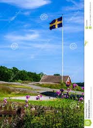 swedish flag stock image image 30028891