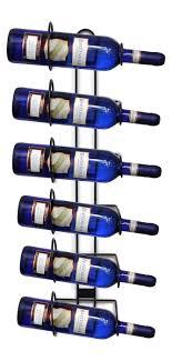 sorbus wine rack stand sorbus wall mount wine rack holds 6 bottles of wine
