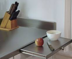 stainless steel cutting board table 15 best countertop enhancements images on pinterest countertops