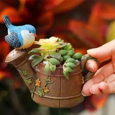 online get cheap bird pot aliexpress com alibaba group 2017 newest birds and showers flower succulent pot bonsai planter flower pots planters plant bed box