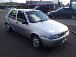 ford fiesta finesse 1 3cc 5dr 1999 low miles silver in