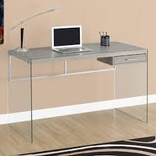 Computer Inside Glass Desk Glass Computer Desks Regarding Kidney Shaped Glass Desk U2013 Large