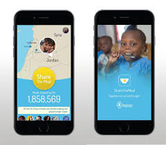 Map The Meal Gap World Food Programme Launches U0027share The Meal U0027 App To Help Syrian