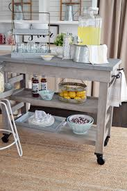 Modern Farmhouse Kitchen by Farmhouse Kitchen Island Cart