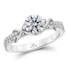 uniquely classic lve round multi engagement ring lve