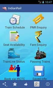 indian railway apk indian rail irctc info apk for android