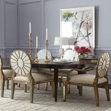 john richard collection tonya silver mirrored dining table