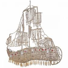 Chandelier Frame Italian Crystal Chandelier On Wire Frame In The Form Of A Ship