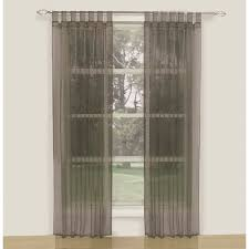 koo crystal tap top sheer curtains