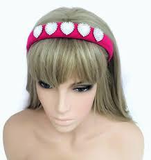 jewelled headband gorgeous fuchsia pink jewelled headband padded hair band diamante