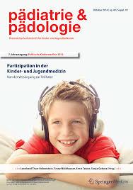 PDF Partizipation europäischer Kinder in der Medizin