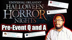 halloween horror nights tips hhn 27 pre event q and a youtube