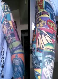 comic book sleeve tat ideals pinterest book sleeve batman