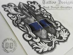 tattoo design from dark design graphics on behance