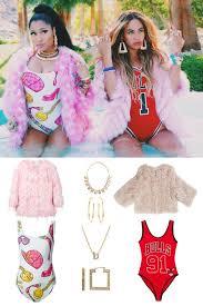 Beyonce Halloween Costumes Beyoncè Nicki Minaj U0027s Music Video