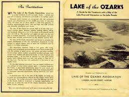 lake of the ozarks the history of boating on the lake 1930s