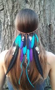 turkey feather headband real feather headband turkey feather headband american