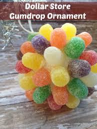 diy ornaments dollar store gumdrop ornament living a