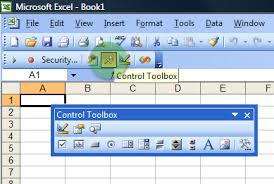 add command button to an excel worksheet