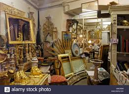 antique store rome italy stock photo royalty free image