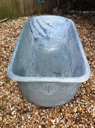 Antique Home Decor Online Antique Victorian Galvanized Steel Baby Bathtub Footed German Home