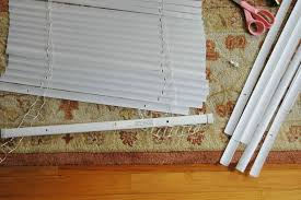 transforming mini blinds into chic roman shades u2026weekend diy