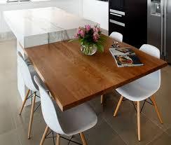 cuisine avec table à manger cuisine avec salle a manger integree maison design bahbe com