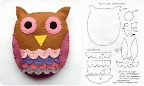 template diy diy felt owl template diy projects usefuldiy