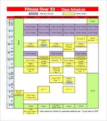 sample schedules class schedule sample schedules anchor bay