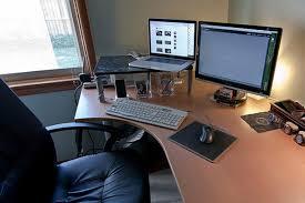 Office Desk Set Up Programmer Desk Setup Catchy Office Furniture Decor With