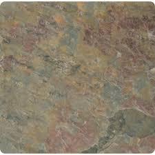 Tumbled Marble Kitchen Backsplash 4x4 Natural Stone Tile Tile The Home Depot