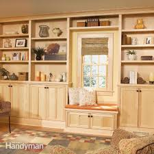 how to build a classic floor to ceiling bookcase family handyman