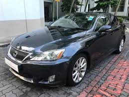 lexus is 250 for sale used by owner buy used toyota lexus is250 auto std fl car in singapore 49 800